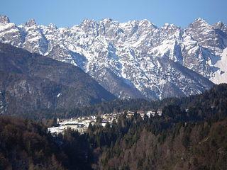 Forni di Sotto Comune in Friuli-Venezia Giulia, Italy