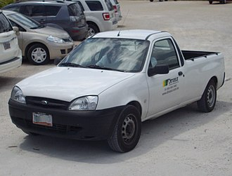 Ford Courier - The most recent model in the Ford Courier series, developed by Ford Brazil and introduced in 1998