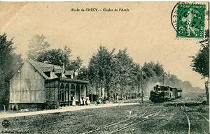Réseau des Bains de Mer - Forêt de Crécy station in 1912