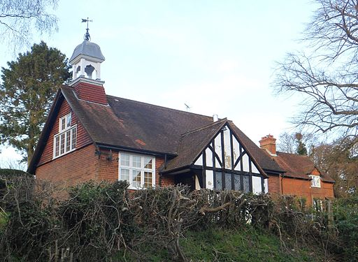 Former Abinger Hammer Mission Church Room, Abinger Hammer (March 2014)