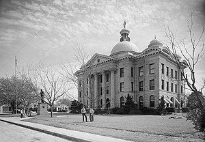 Fort Bend County, Texas - Fort Bend County Court House in 1948