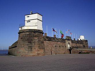 New Brighton, Merseyside - Fort Perch Rock