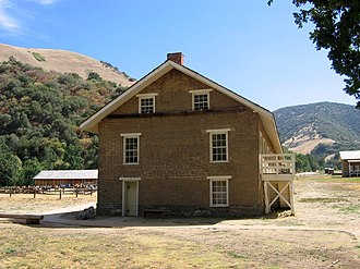 Fort Tejon - Image: Fort Tejon Restored Barracks