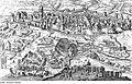 Fotothek df rp-b 0130026 Leipzig. Stadtansicht während der Belagerung 1547 mit brennender Bockmühle, aus,.jpg