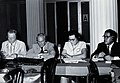 Four scientists at Rio de Janeiro. Photograph. Wellcome V0028096.jpg