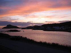 Fox Harbour at Sunset, Summer 2009