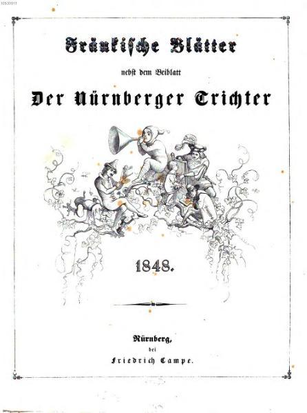 File:Fränkische Blätter nebst dem Beiblatt Der Nürnberger Trichter.djvu