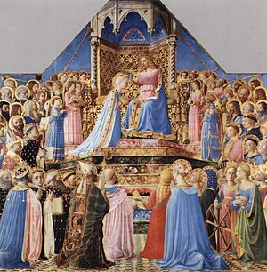 Coronation of the Virgin by Fra Angelico, 1434