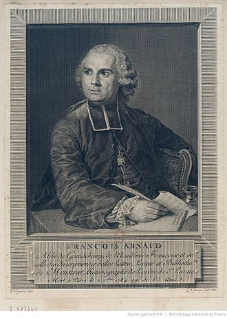 François Arnaud (ecclesiastic) - Image: François Arnaud (1721 1784)
