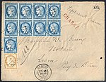 France 1876-06-28 value declared cover.jpg
