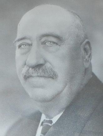 Deer Lodge, Montana - Mayoral portrait of Frank Conley, mayor of Deer Lodge, Montana (with breaks) from 1892 until 1928