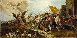 Frans Francken the Elder - The Battle of Time against Death