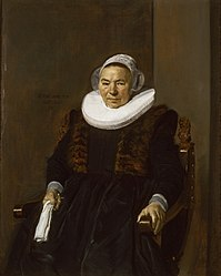 Frans Hals: Portrait of Mrs. Bodolphe