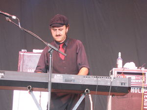 The Hold Steady - Franz Nicolay, keyboardist