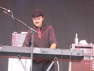 The Hold Steady - Franz Nicolay, keyboardist