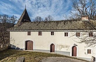 Folwark - Folwark house at castle Frauenstein, Carinthia, Austria