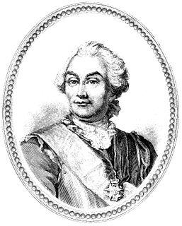 Axel von Fersen the Elder 18th-century Swedish lantmarskalk or marshal of the diet