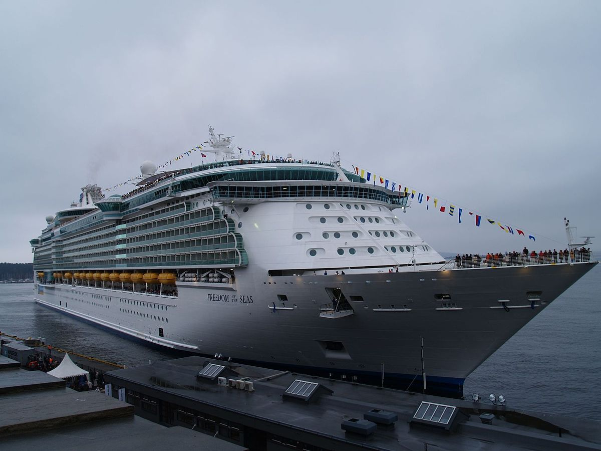 Freedomclass Cruise Ship Wikipedia - Biggest cruise ships list