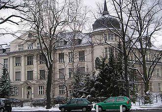 Max Delbrück - Delbrück's workplace in Berlin: Kaiser Wilhelm Institute for Chemistry, now the Free University of Berlin.