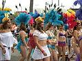 Fremont Solstice Parade 2008 - samba dancers 01.jpg