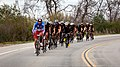 French service members lead the front pack of cyclists competing in the 30-kilometer open cycling competition during the 2012 Marine Corps Trials hosted by the Wounded Warrior Regiment at Marine Corps Base Camp 120219-M-II268-358.jpg