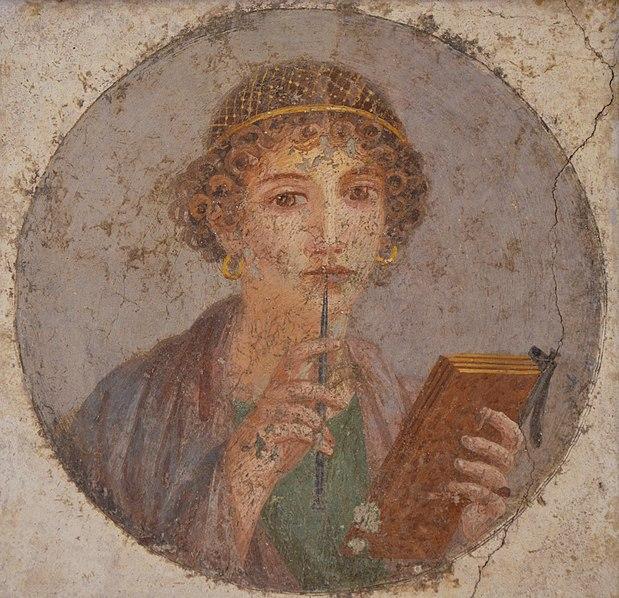 pompeii fresco woman - image 7