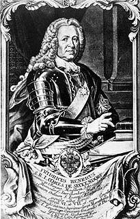 Friedrich Heinrich von Seckendorff Austrian Field Marshal