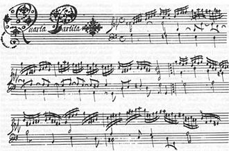 Johann Jakob Froberger - The fourth suite from one of the Vienna manuscripts.