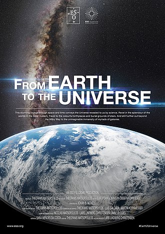 International Year of Astronomy - Image: From Earth to the Universe Movie Poster