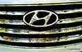 Front Emblem - 2014 Hyundai Santa Fe Limited (15657093994).jpg