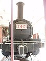 Front of the preserved locomotive in National Cheng Kung University circa 2008.jpg
