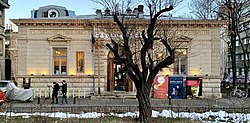 Frontal view of the D.A. Sturdza House from Bucharest (Romania).jpg