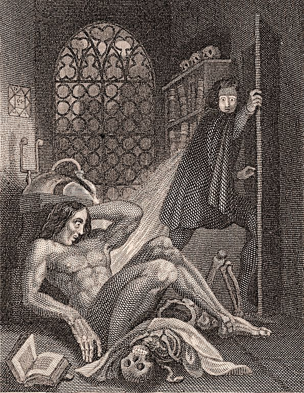 File:Frontispiece to Frankenstein 1831.jpg - Wikimedia Commons