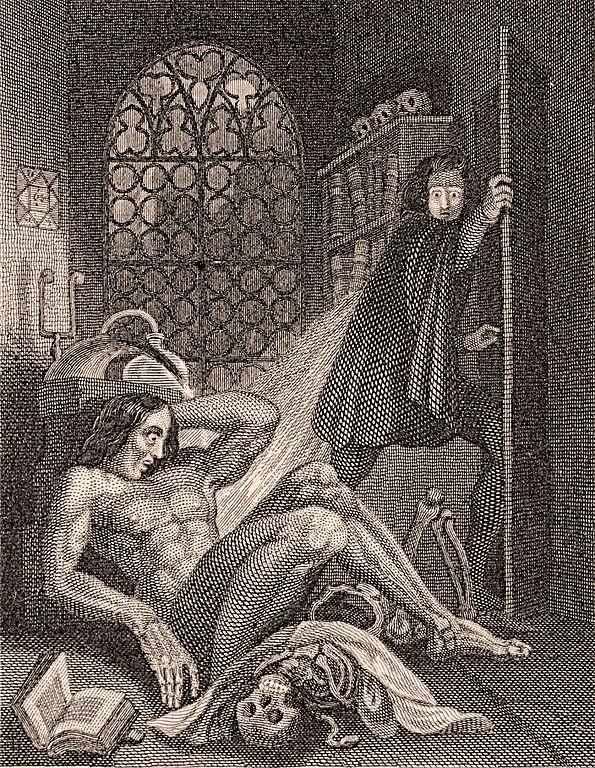 Image result for frankenstein frontispiece