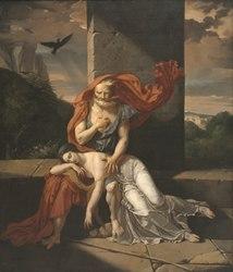 Fulchran-Jean Harriet: Oedipus at Colonus