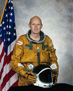C. Gordon Fullerton American astronaut and test pilot