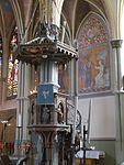 Göteborg Oskar-Fredriks-Kirche Innen Kanzel.JPG