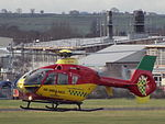 G-KRNW Eurocopter EC135 Helicopter Bond Air Services Ltd (23424580069).jpg