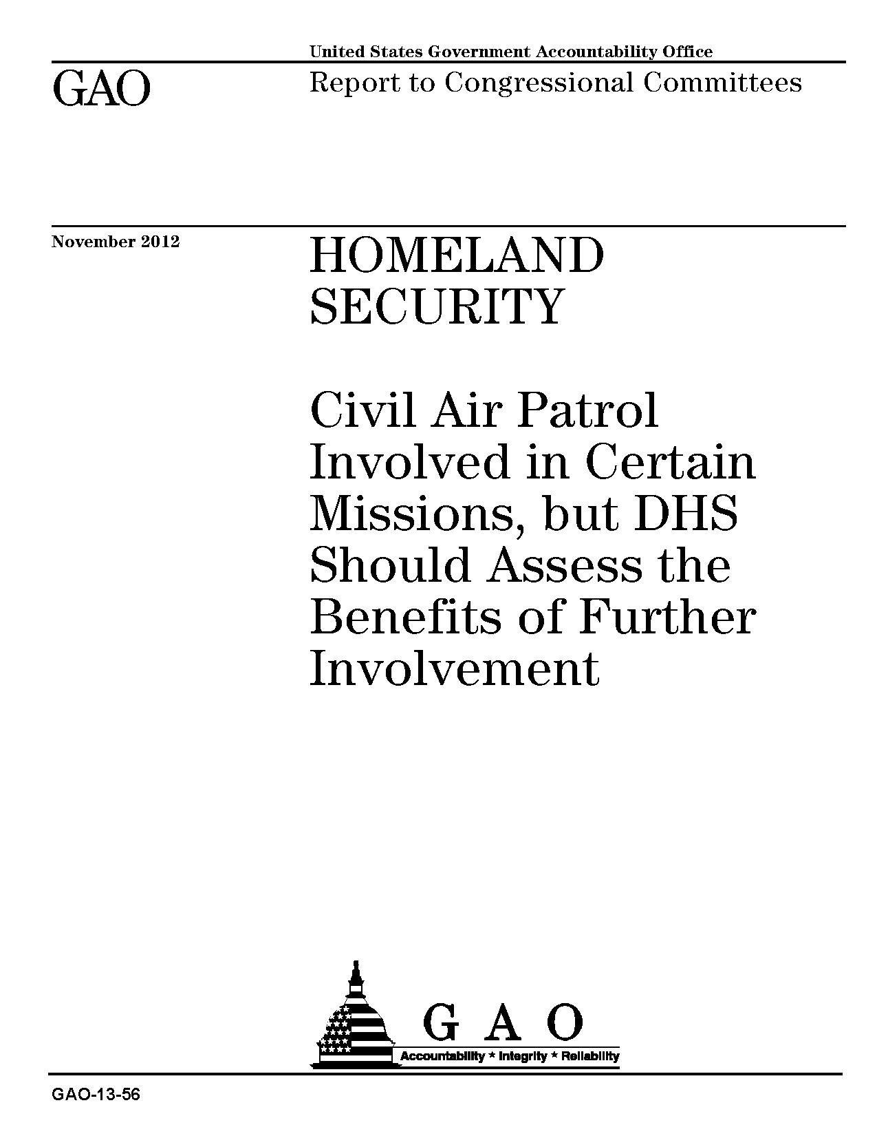 b77c580de74 File GAO Report - Civil Air Patrol Involved in Certain Missions