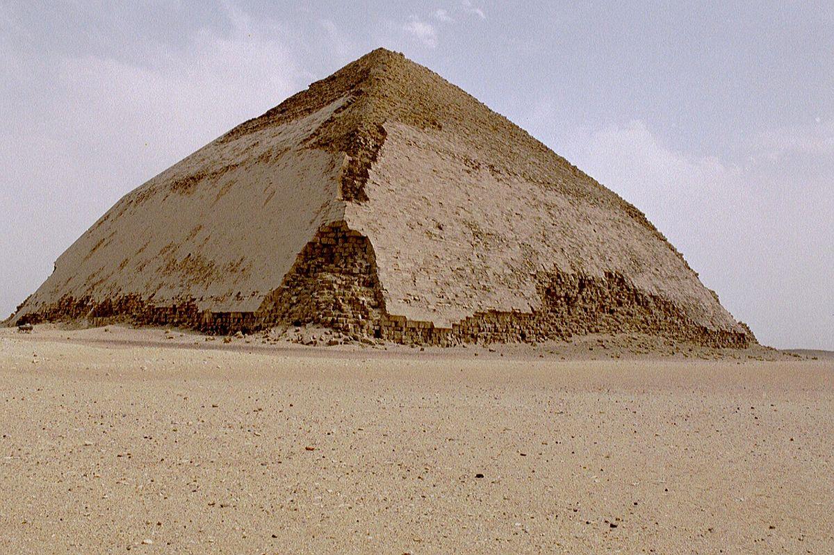Resultado de imagen de PIRÁMIDE DE SNOFRU, DASHUR (hacia 2615)