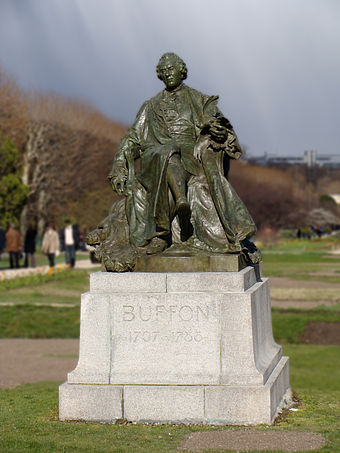 Statue of Buffon in the Jardin des Plantes