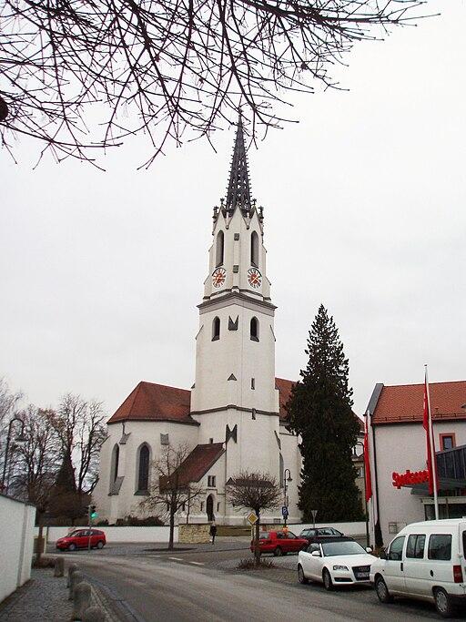 Gaimersheim im Landkreis Eichstätt Kath. Pfarrkirche