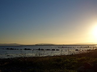 Galway Bay - Image: Galway bay december