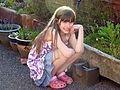 Garden Gnome Girl (7250914028).jpg