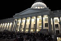 Protest at the Utah State Capitol