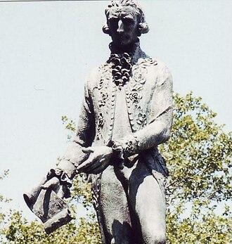 Diego de Gardoqui - Philadelphia statue of Gardoqui by Luis Antonio Sanguino