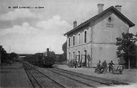 The old station, in the early 20th century