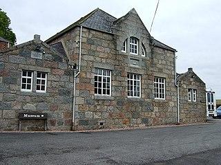 Garlogie village in the United Kingdom
