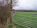Gate in field - geograph.org.uk - 1209218.jpg
