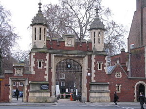 Lincoln's Inn - The Gate from Lincoln's Inn Fields